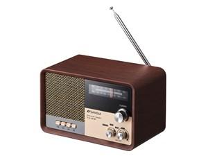 サンスイ SANSUI ポータブルオーディオ Bluetooth ラジオスピーカー ブラウン・・・
