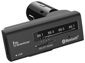 カシムラ Bluetooth FMトランスミッター 4バンド USB1ポート 2.4A KD-189