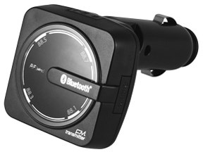 カシムラ Bluetooth FMトランスミッター レインボーイルミ USB1ポート 2.4A K・・・