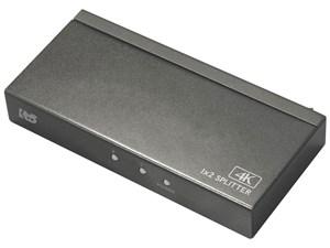 ラトックシステム 4K60Hz対応 1入力2出力 HDMI分配器 RS-HDSP2P-4K
