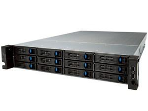 エレコム Windows Storage Sever 2016 Standard搭載NAS 2Uラック型 12ベイ 48・・・