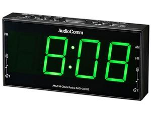 オーム電機 AMFMクロックラジオ RAD-C870Z