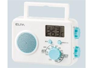 ELPA エルパ AM/FMシャワーラジオ ER-W40F 1台 4901087217816
