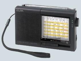 ELPA エルパ AM/FM短波ラジオ ER-C74T 1台 4901087217410