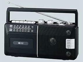 ELPA ラジオカセットレコーダー ADK-RCR300