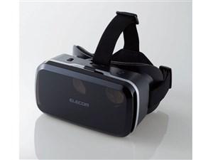 エレコム 高画質 VRゴーグル 合皮フェイスパッド メガネ対応 スマホ対応 Andr・・・