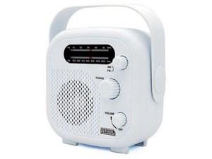 ヤザワコーポレーション IPX5対応の防水シャワーラジオ(ホワイト) SHR02WH
