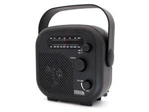 ヤザワコーポレーション IPX5対応の防水シャワーラジオ(ブラック) SHR02BK