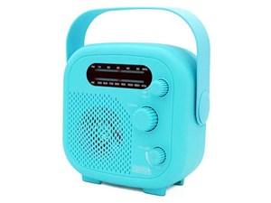 ヤザワコーポレーション IPX5対応の防水シャワーラジオ(ブルー) SHR02BL
