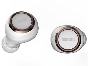 マクセル maxell 完全ワイヤレス型 Bluetoothイヤホン TWS ホワイト×カッパ・・・
