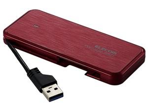エレコム SSD 外付け 480GB ケーブル収納 ps4 動作確認済み セキュリティ機能・・・