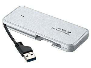 エレコム SSD 外付け 960GB ケーブル収納 ps4 動作確認済み セキュリティ機能・・・