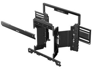 ソニー スイーベル機能による左右の角度調整が可能。スリムな壁掛けユニット ・・・