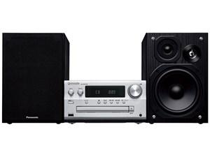 パナソニック CDステレオシステム ハイレゾ音源対応 シルバー SC-PMX90-S