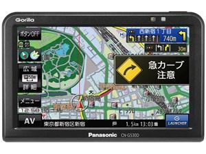 パナソニック ポータブルカーナビ ゴリラ CN-G530D 5インチ ワンセグ SSD16GB・・・
