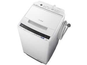 BW-V70E-W 日立 全自動洗濯機 7kg ビートウォッシュ ホワイト