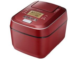 RZ-V100CM-R 日立 IHジャー炊飯器 沸騰鉄釜 ふっくら御膳 メタリックレッド