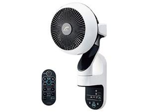ユーイング U・ING 扇風機 壁掛け扇 DCモーター搭載 リモコン付 ホワイト UF-・・・