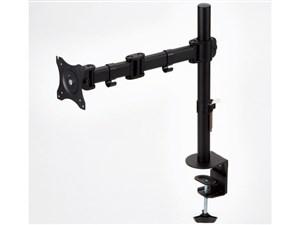 エレコム 簡単に調節できる モニターアーム 高耐荷重8kg シングル(1画面) ロ・・・