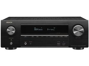 DENON AVアンプ ハイレゾ対応 7.1ch DolbyAtmos対応 ブラック AVR-X1600H