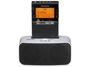 東芝 ワイドFM対応 FM/AM 携帯ラジオ ブラック TY-SPR8-KM