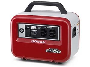 ホンダ 蓄電機 LiB-AID E500 パワーレッド (E500JN1ER) 蓄電池 蓄電器 インバ・・・