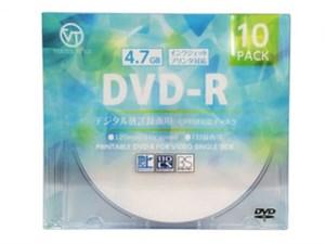 VERTEX DVD-R(Video with CPRM) 1回録画用 120分 1-16倍速 10P インクジェッ・・・