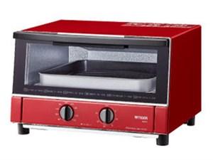 KAM-S130-RG タイガー オーブントースター やきたて グロスレッド