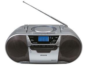 【納期目安:約10営業日】アイワ CDラジオカセットレコーダー CSD-MV20B
