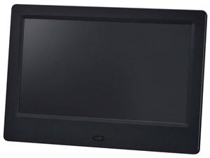 グリーンハウス 7インチ デジタルフォトフレーム(1024*600) ブラック GH-DF7U・・・