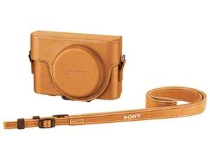 【納期目安:約10営業日】ソニー RX100シリーズ用ジャケットケース ベージュ ・・・