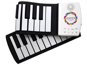 ワントーン(Onetone) クルクル巻ける 49鍵盤 ロールピアノ OTR-49
