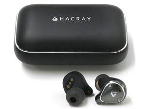 ●お取寄せ HR16368 HACRAY TRUE WIRELESS EARPHONE W1 ブラック