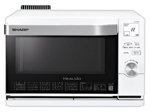 シャープ【SHARP】18L ウォーターオーブン ヘルシオ ホワイト系 AX-CA600-W★・・・