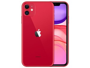 Apple iPhone 11 (PRODUCT)RED 64GB SIMフリー [レッド] (SIMフリー)