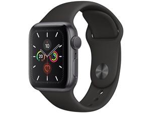 Apple Watch Series 5 GPSモデル 40mm MWV82J/A [ブラックスポーツバンド]