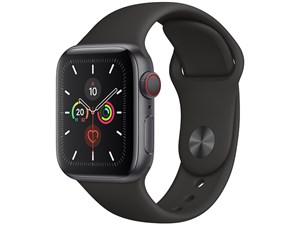 Apple Watch Series 5 GPS+Cellularモデル 40mm MWX32J/A [ブラックスポーツ・・・