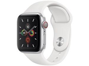 Apple Watch Series 5 GPS+Cellularモデル 40mm MWX12J/A [ホワイトスポーツ・・・