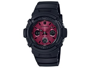 G-SHOCK Black and Red Series AWG-M100SAR-1AJF
