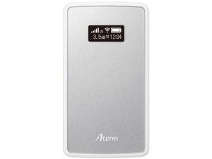 Aterm モバイルルーター MP02LN SW メタリックシルバー PA-MP02LN-SW