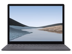 V4C-00018 [プラチナ] マイクロソフト Surface Laptop 3 13.5インチ Windowsノートパソコン:SYデンキ