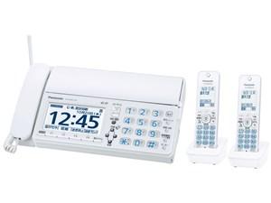 KX-PD625DW-W パナソニック デジタルコードレス普通紙ファクス(子機2台付き) ・・・