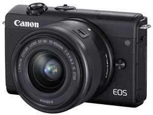 EOS M200 EF-M15-45 IS STM レンズキット [ブラック]