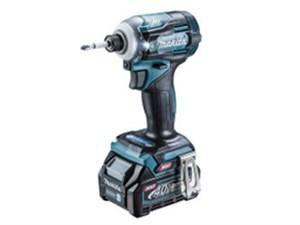 TD001GRDX [青] 充電式インパクトドライバ 40Vmax (バッテリBL4025×2本・充電器DC40RA・ケース付) 商品画像1:アキバ流通Kaago店