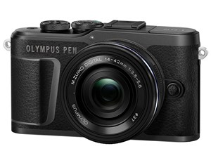 OLYMPUS PEN E-PL10 14-42mm EZレンズキット [ブラック]