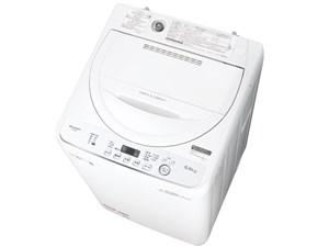 ES-GE5D-W シャープ 全自動洗濯機 5kg ホワイト系