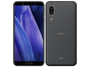 AQUOS sense3 SH-M12 SIMフリー [ブラック] (SIMフリー)