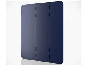 エレコム iPad 10.2 2019年モデル/ハードフラップケース/スリープ対応/ネイビ・・・