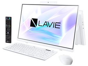 LAVIE Home All-in-one HA770/RAW PC-HA770RAW [ファインホワイト]