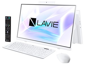 LAVIE Home All-in-one HA370/RAW PC-HA370RAW [ファインホワイト]